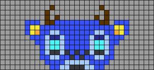 Alpha pattern #39406