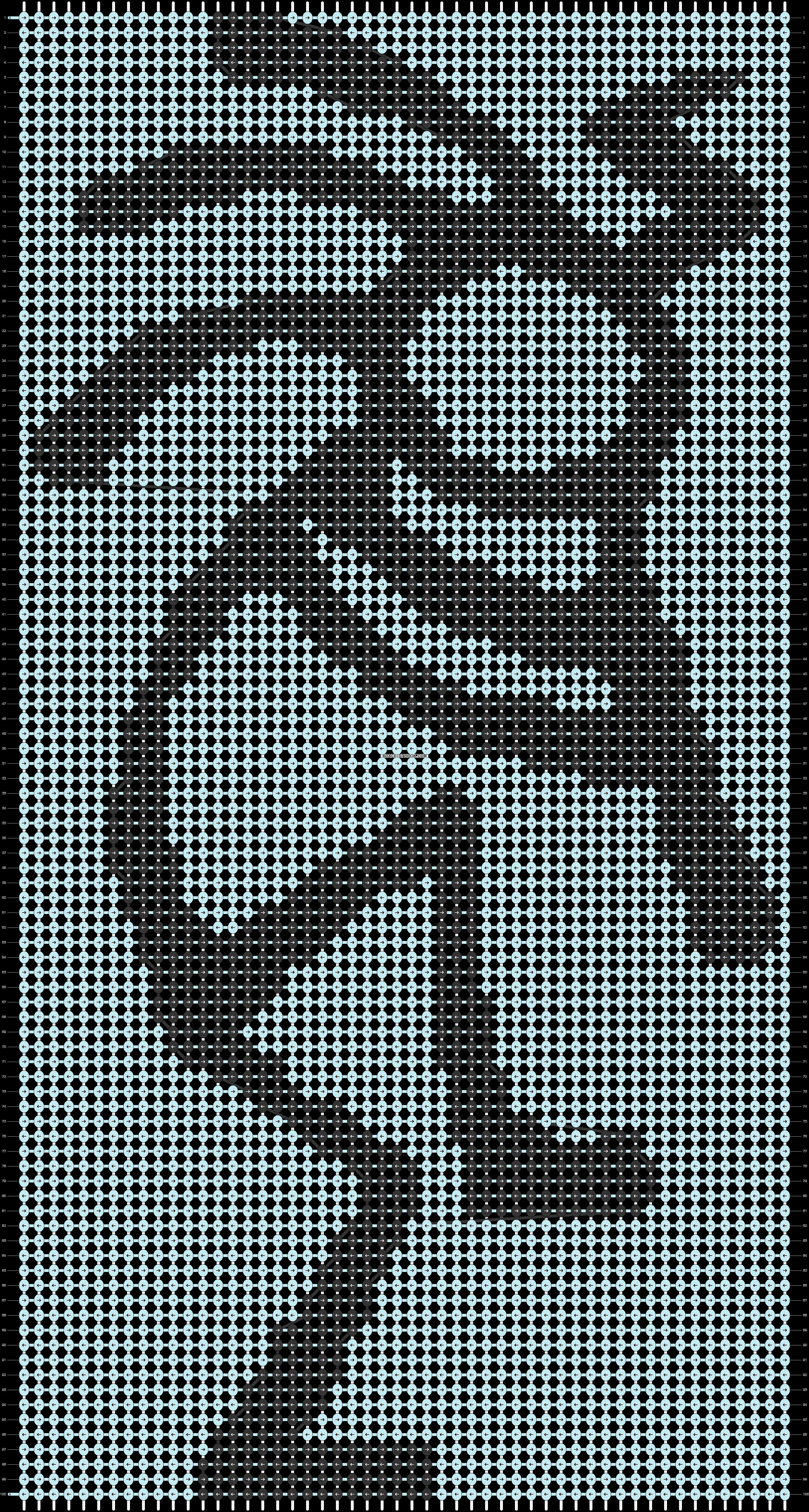 Alpha pattern #39443 pattern