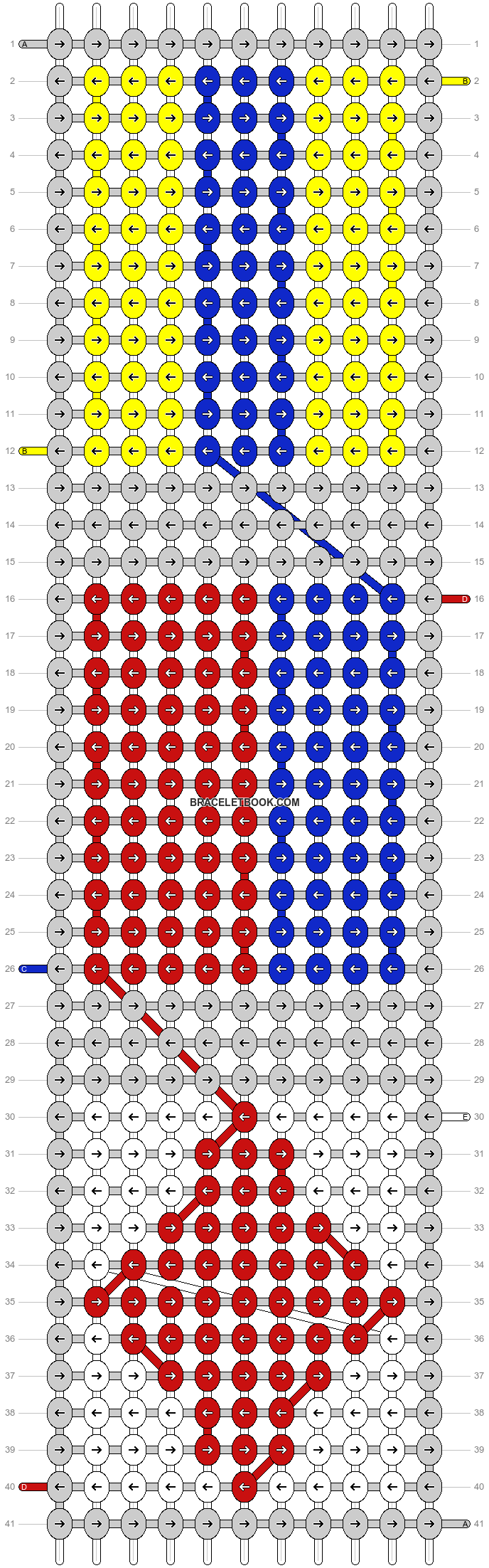 Alpha pattern #39446 pattern