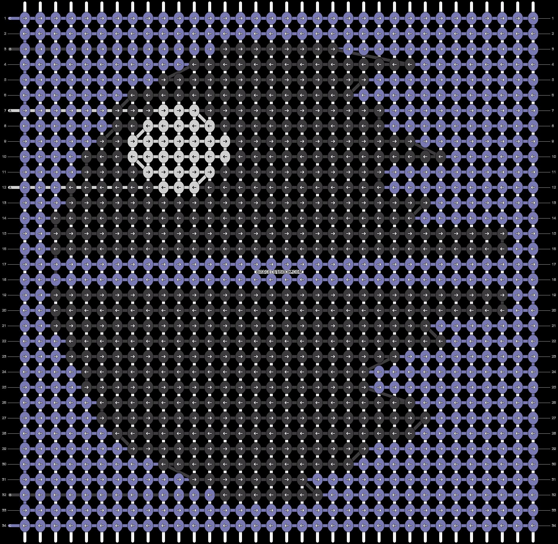 Alpha pattern #39479 pattern