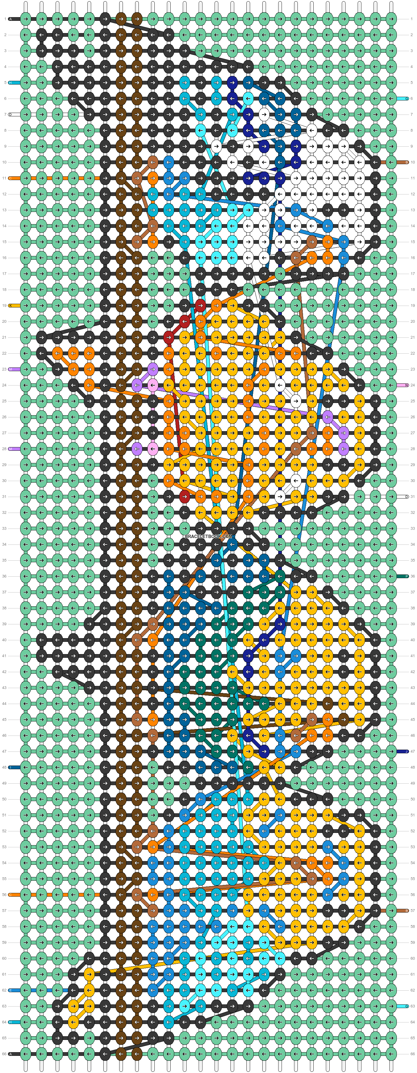 Alpha pattern #39483 pattern