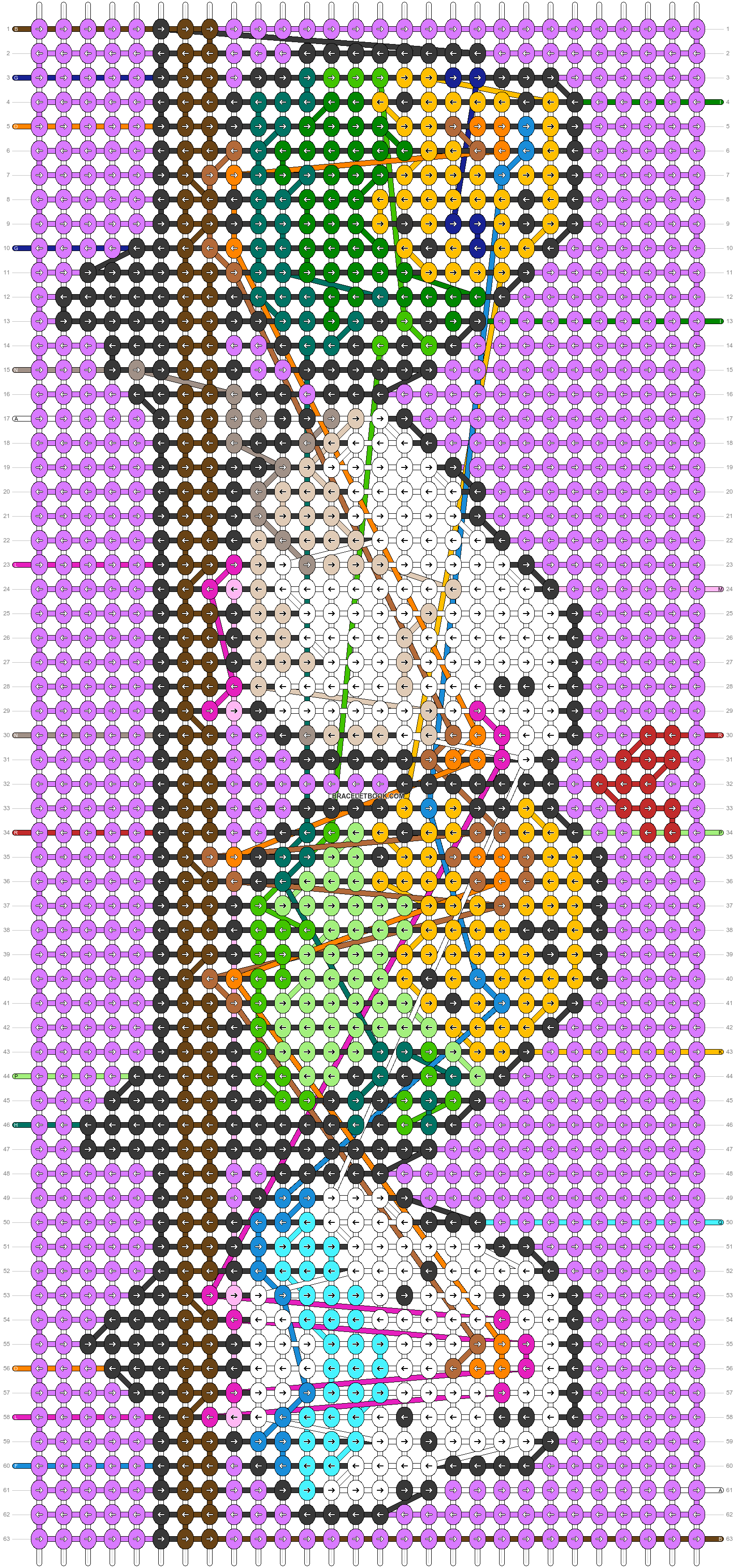 Alpha pattern #39484 pattern