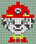 Alpha pattern #39492