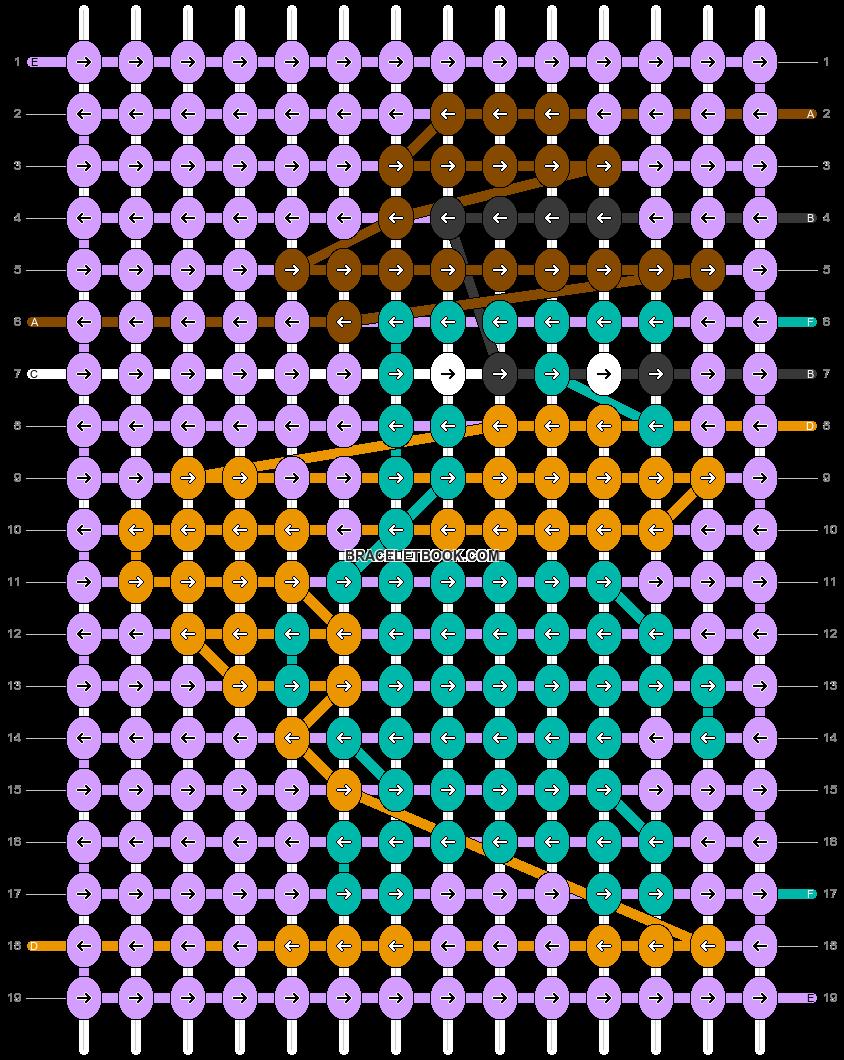 Alpha pattern #39504 pattern