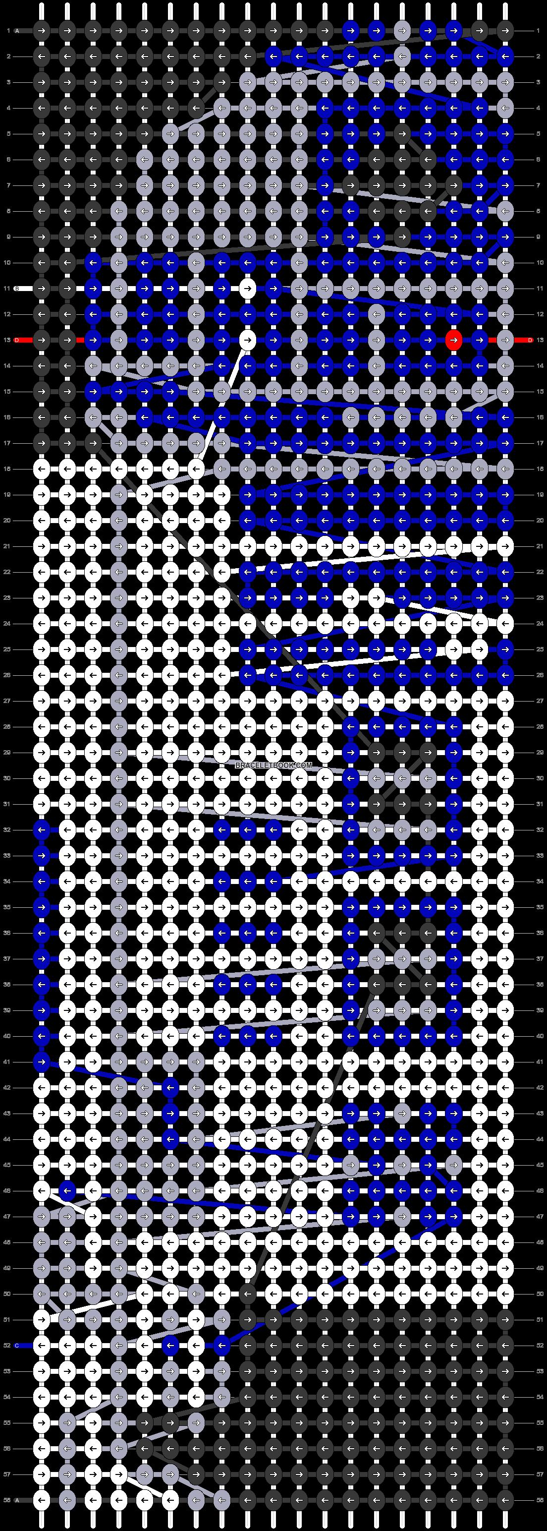 Alpha pattern #39512 pattern