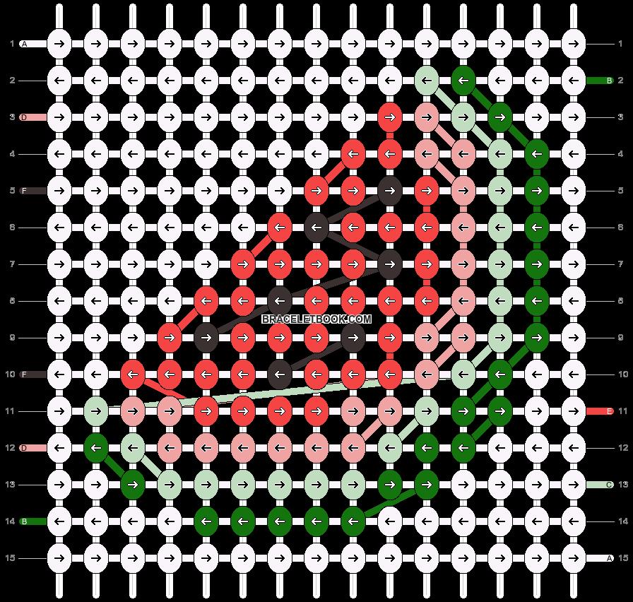 Alpha pattern #39516 pattern