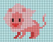 Alpha pattern #39523