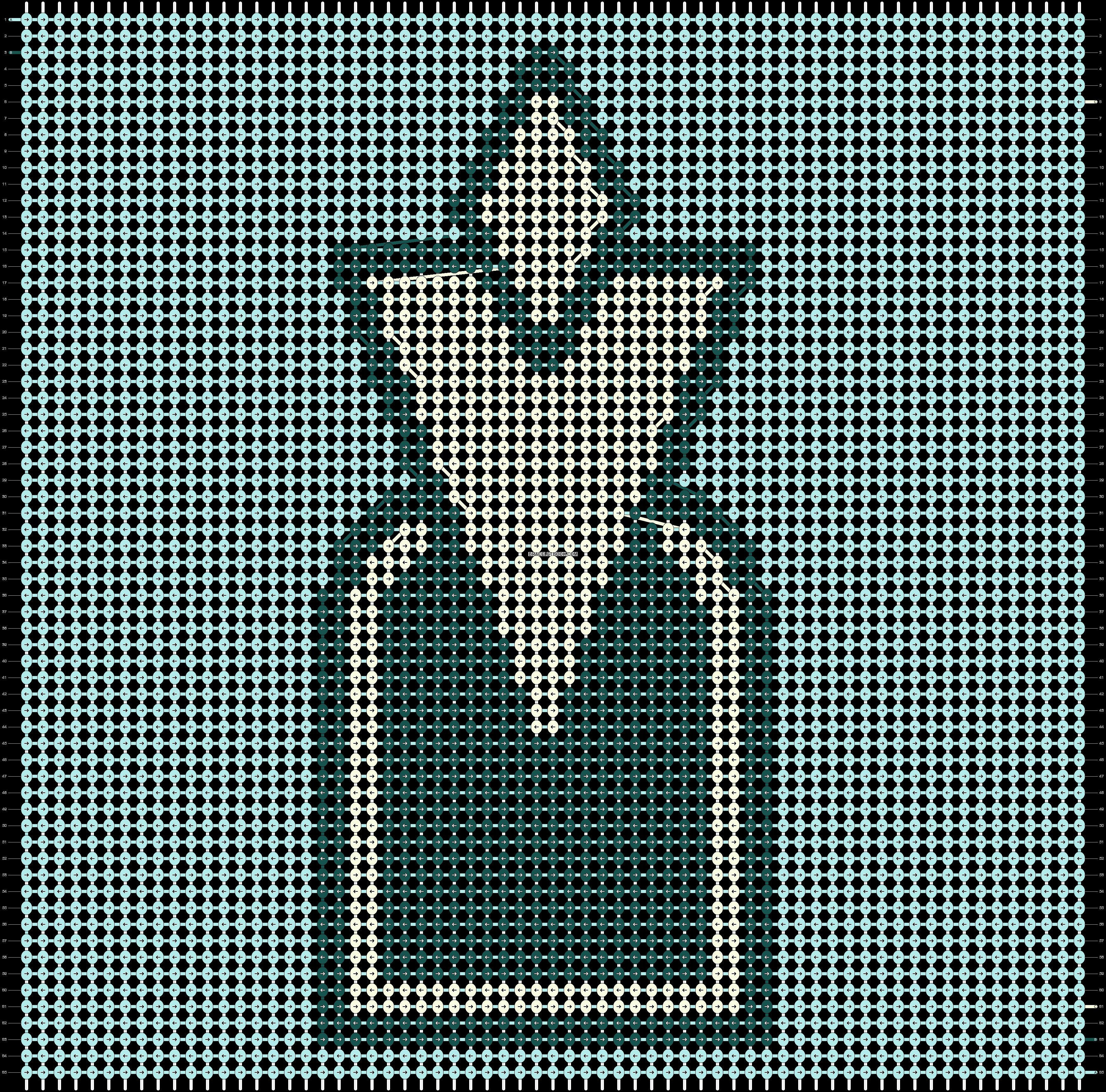 Alpha pattern #39542 pattern