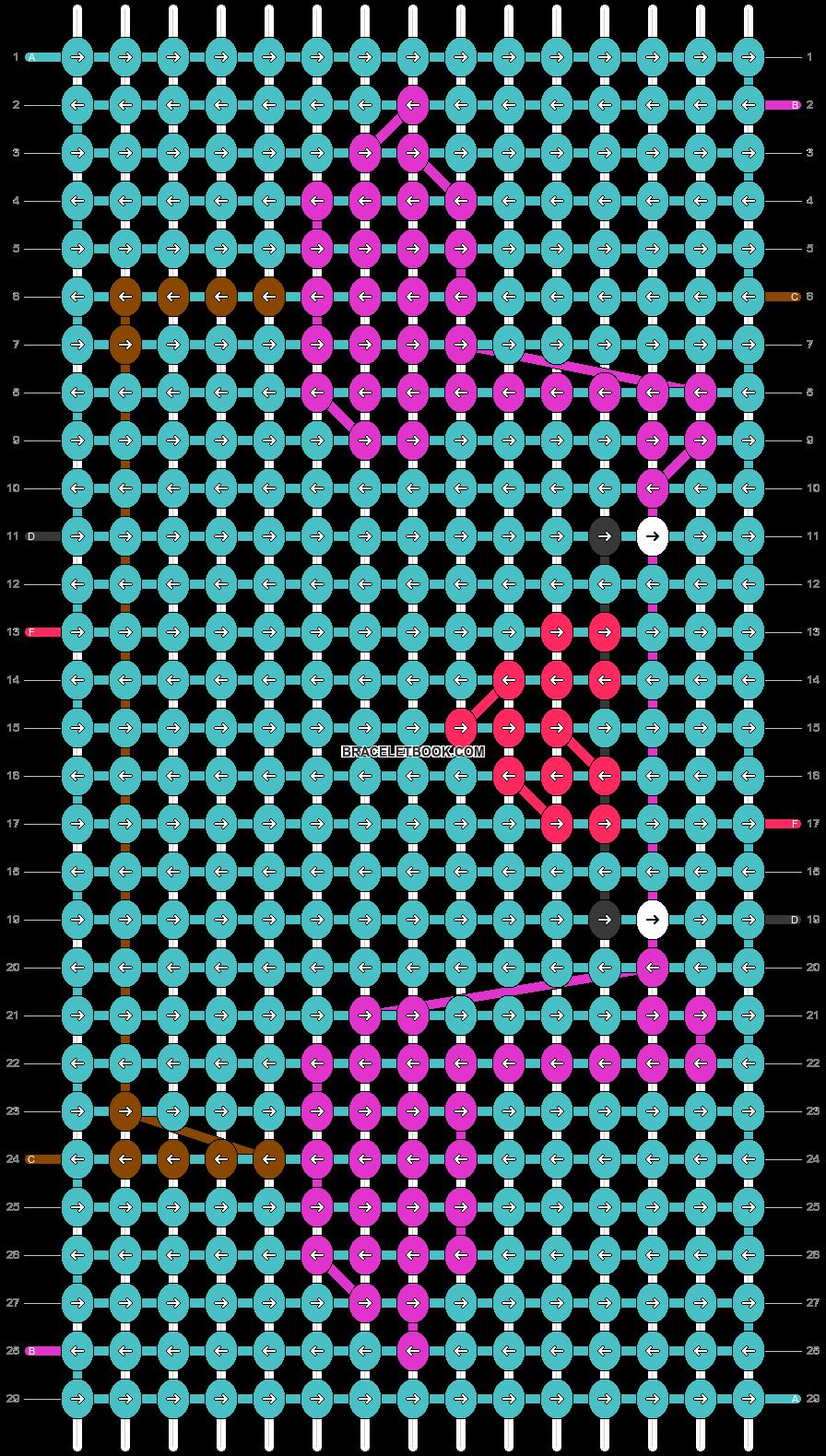 Alpha pattern #39606 pattern