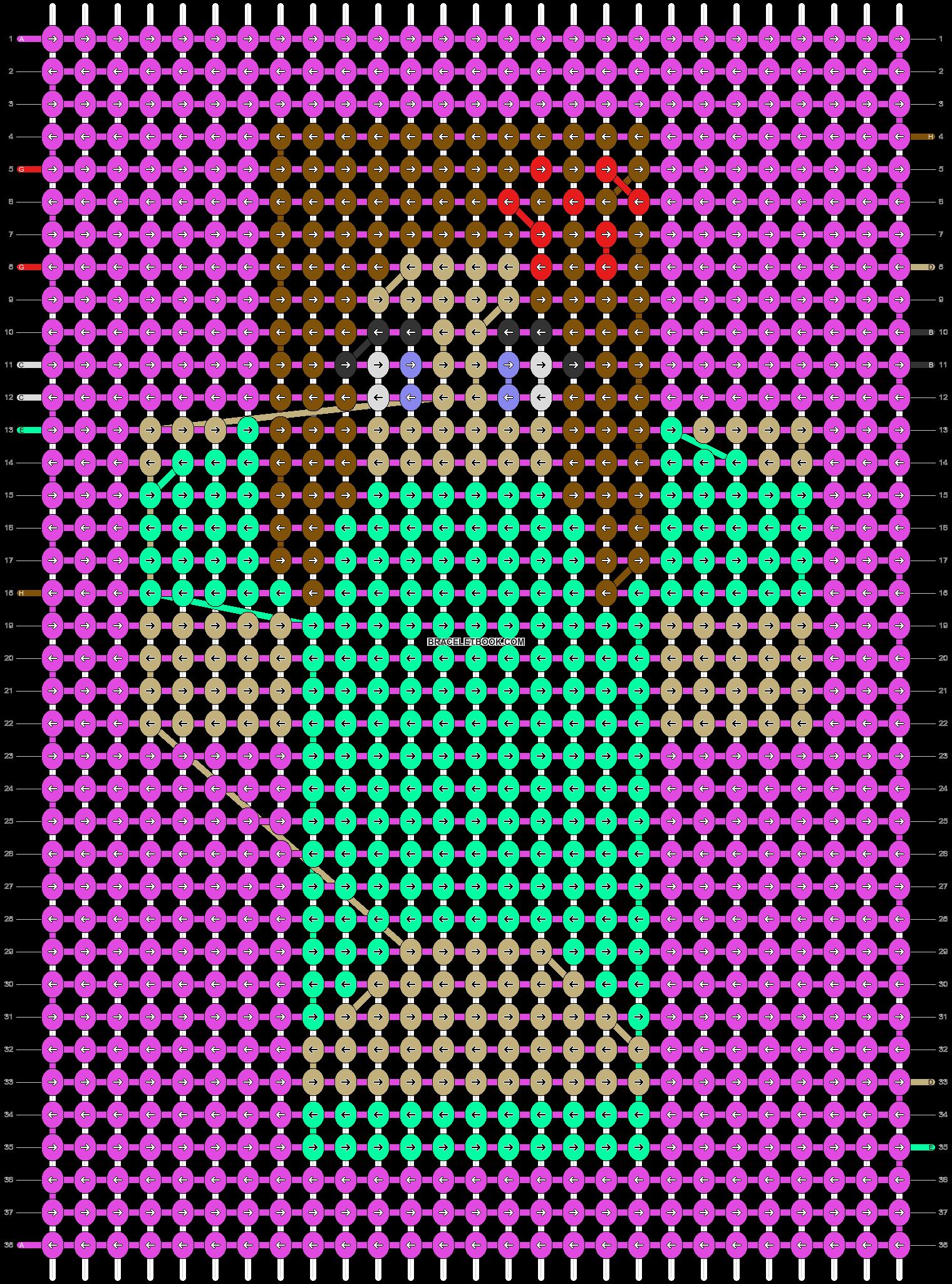 Alpha pattern #39627 pattern