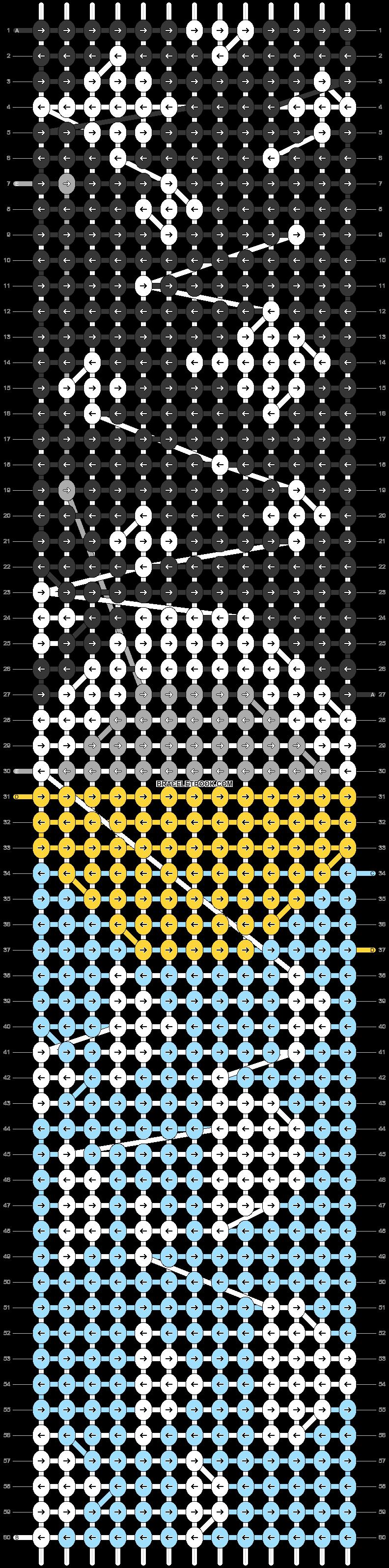 Alpha pattern #39693 pattern