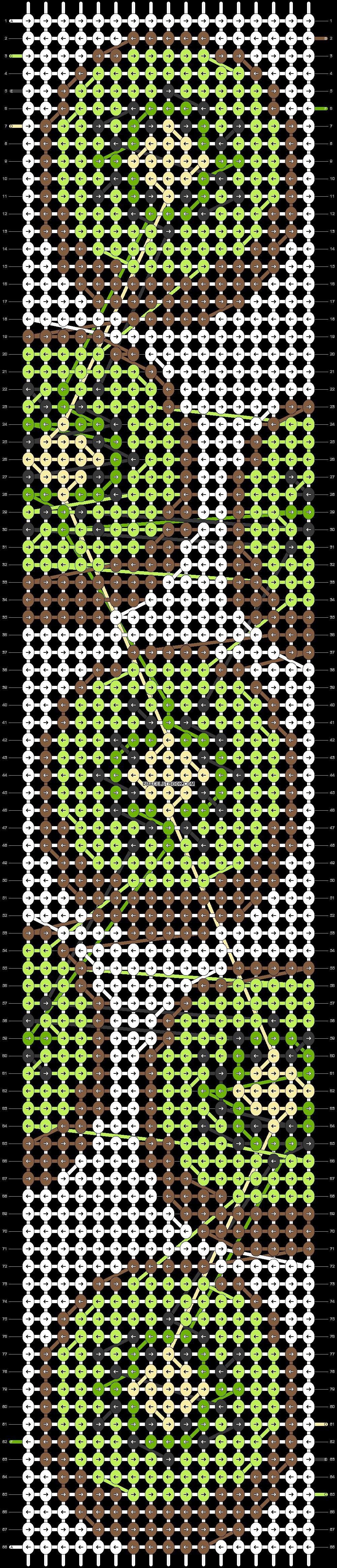 Alpha pattern #39707 pattern