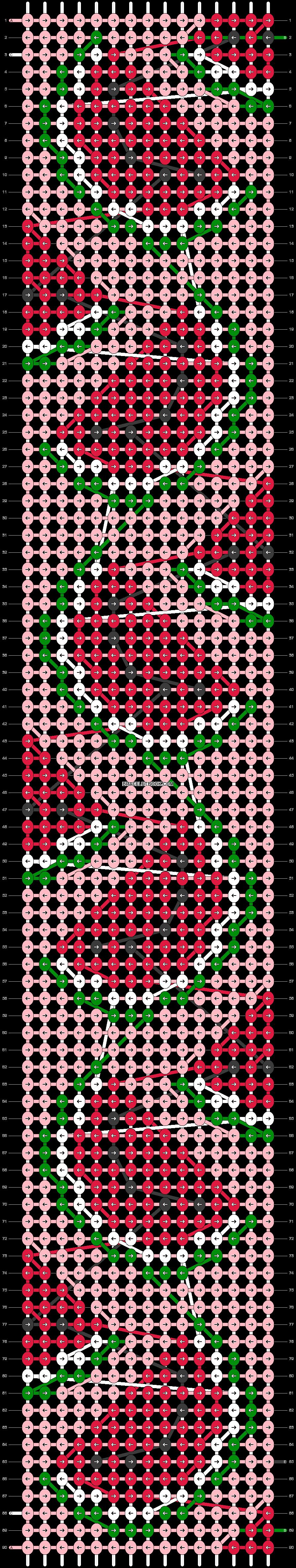 Alpha pattern #39709 pattern