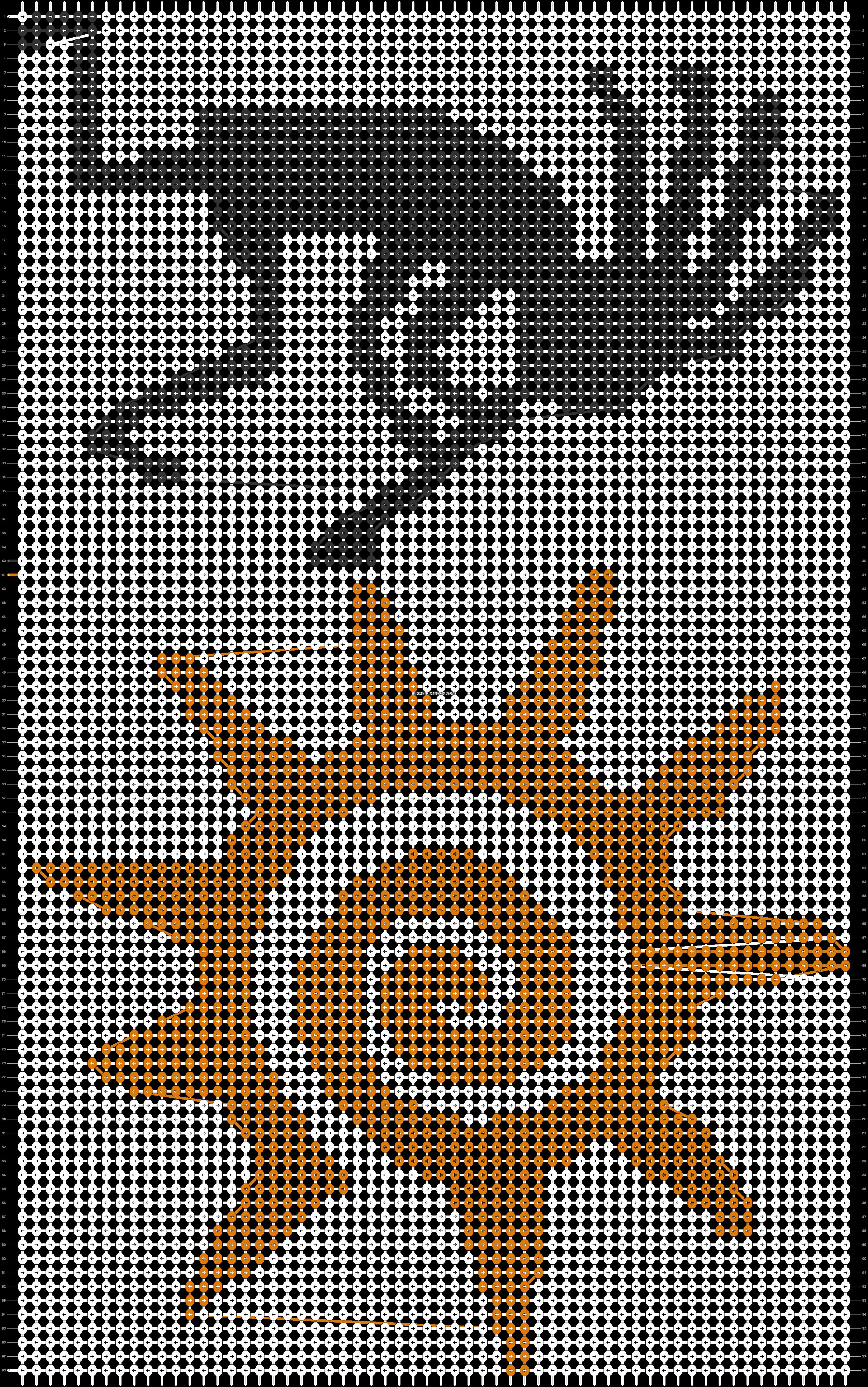 Alpha pattern #39716 pattern