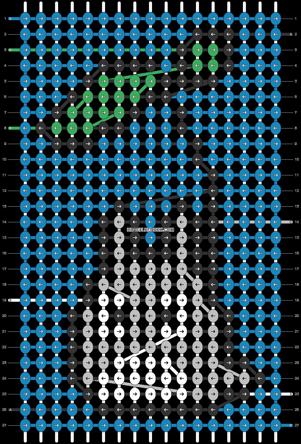 Alpha pattern #39760 pattern