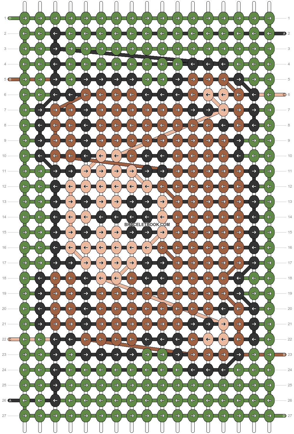 Alpha pattern #39778 pattern