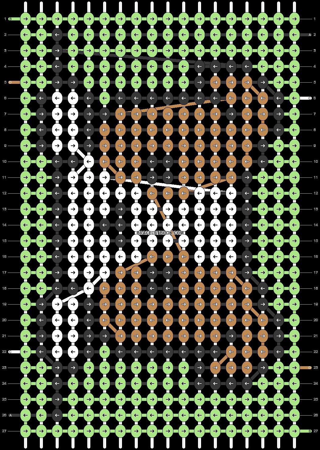 Alpha pattern #39794 pattern