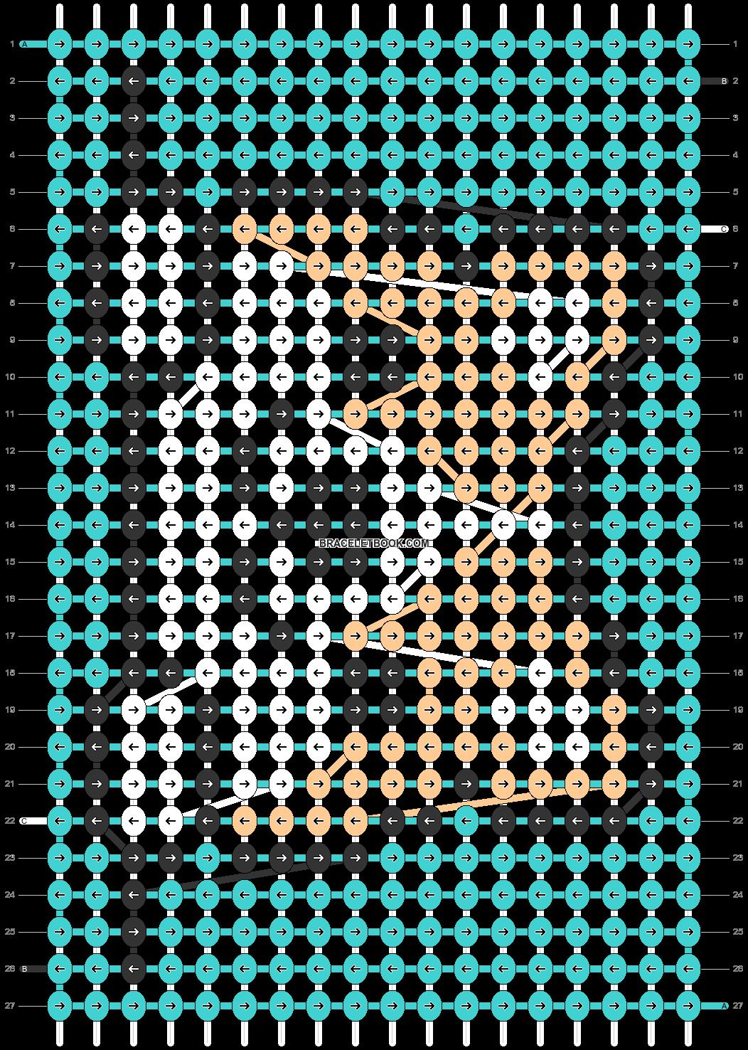Alpha pattern #39798 pattern