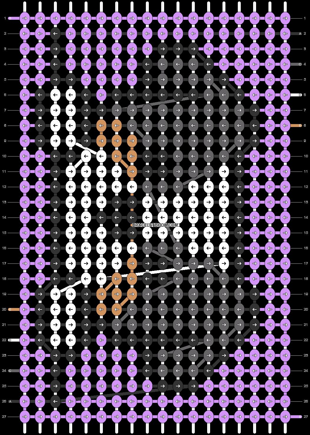 Alpha pattern #39799 pattern