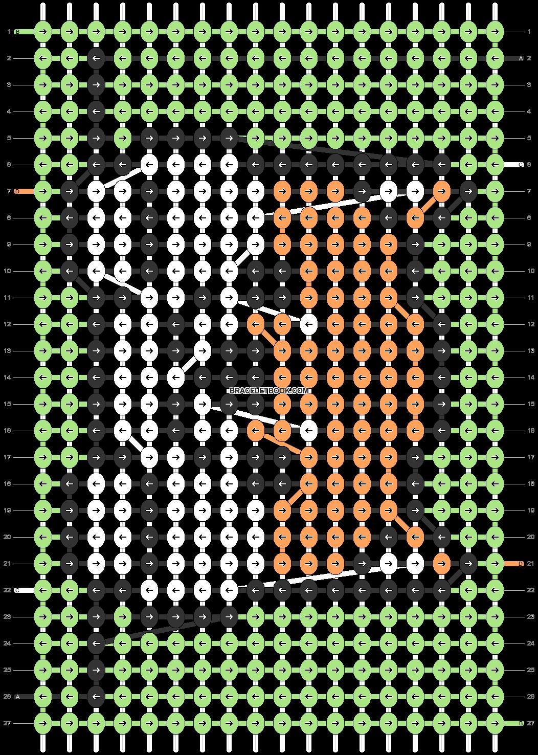 Alpha pattern #39801 pattern