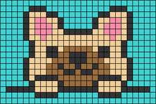Alpha pattern #39802