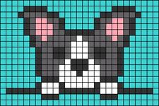 Alpha pattern #39806