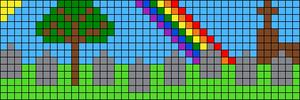 Alpha pattern #39908