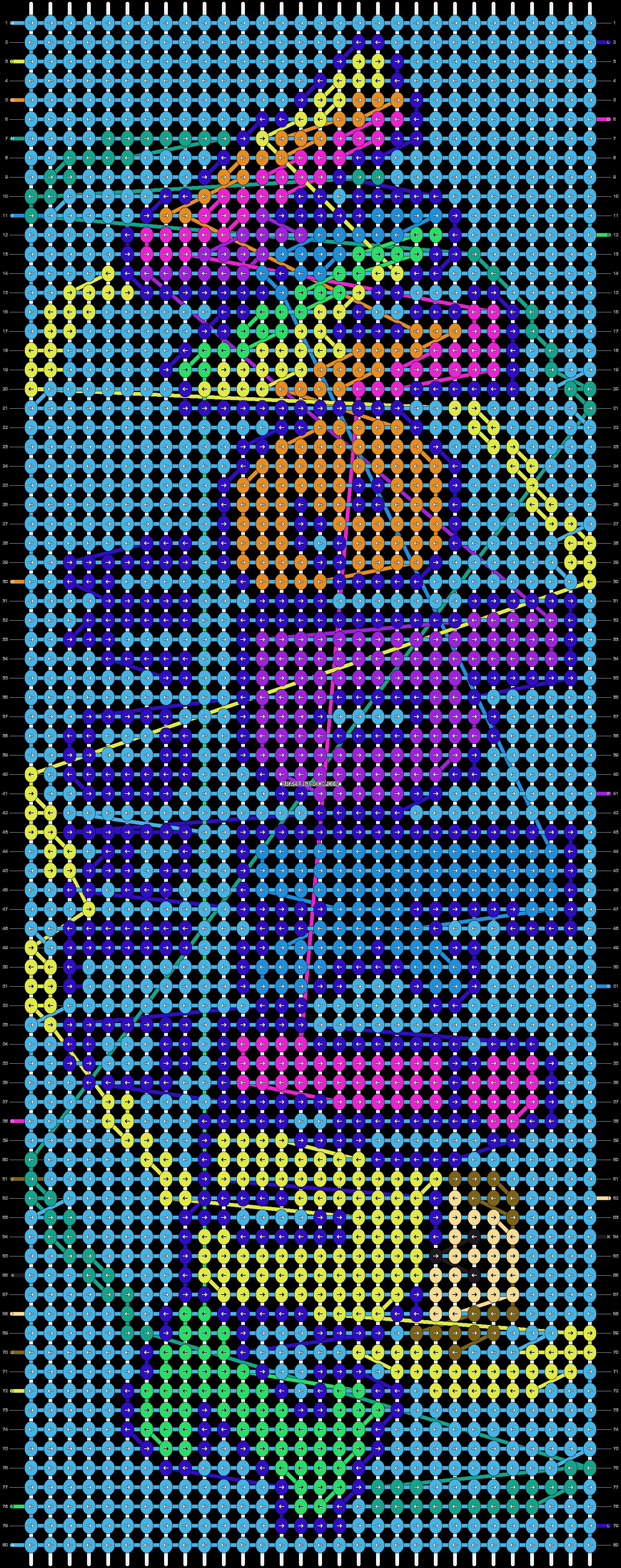 Alpha pattern #39961 pattern