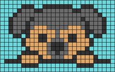 Alpha pattern #39973