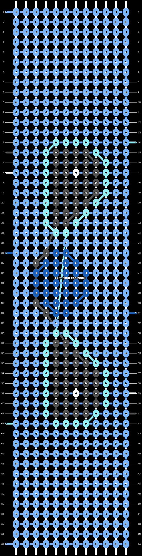 Alpha pattern #40002 pattern