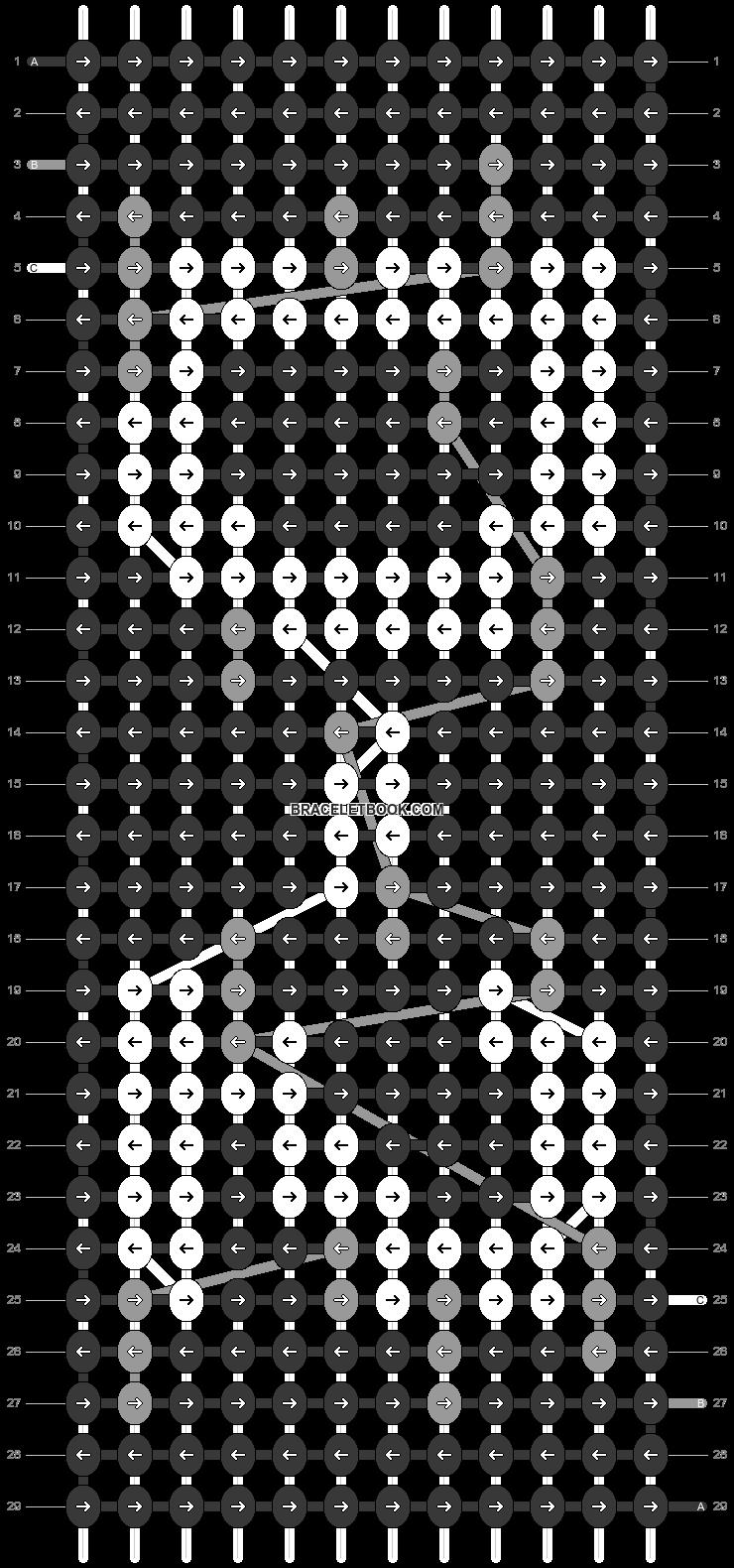 Alpha pattern #40099 pattern