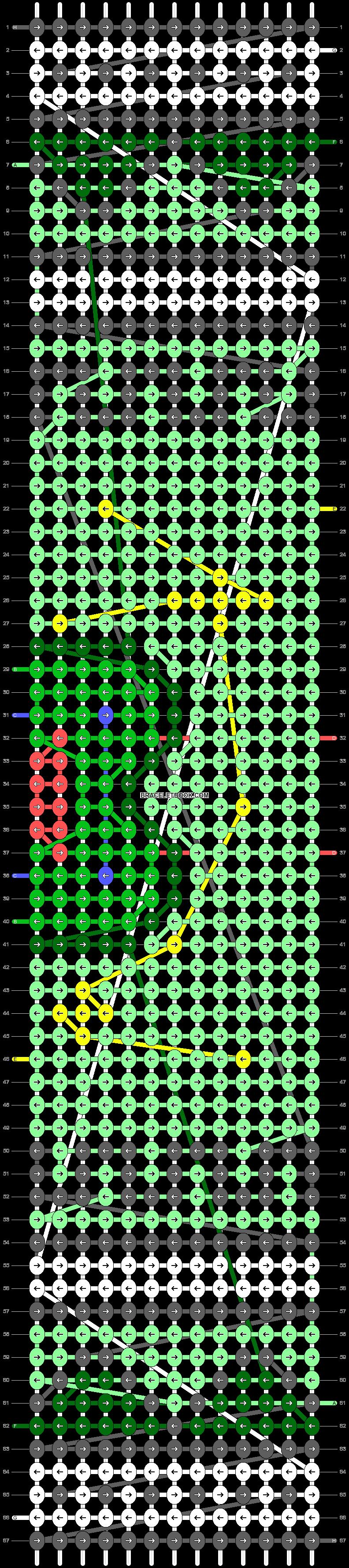 Alpha pattern #40109 pattern