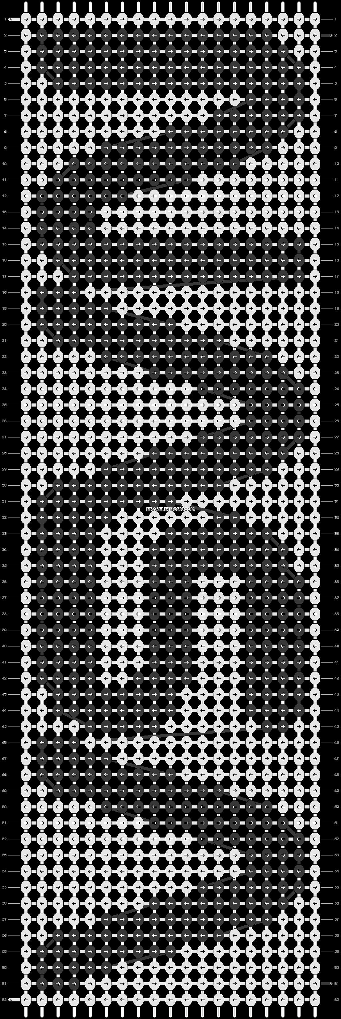 Alpha pattern #40118 pattern