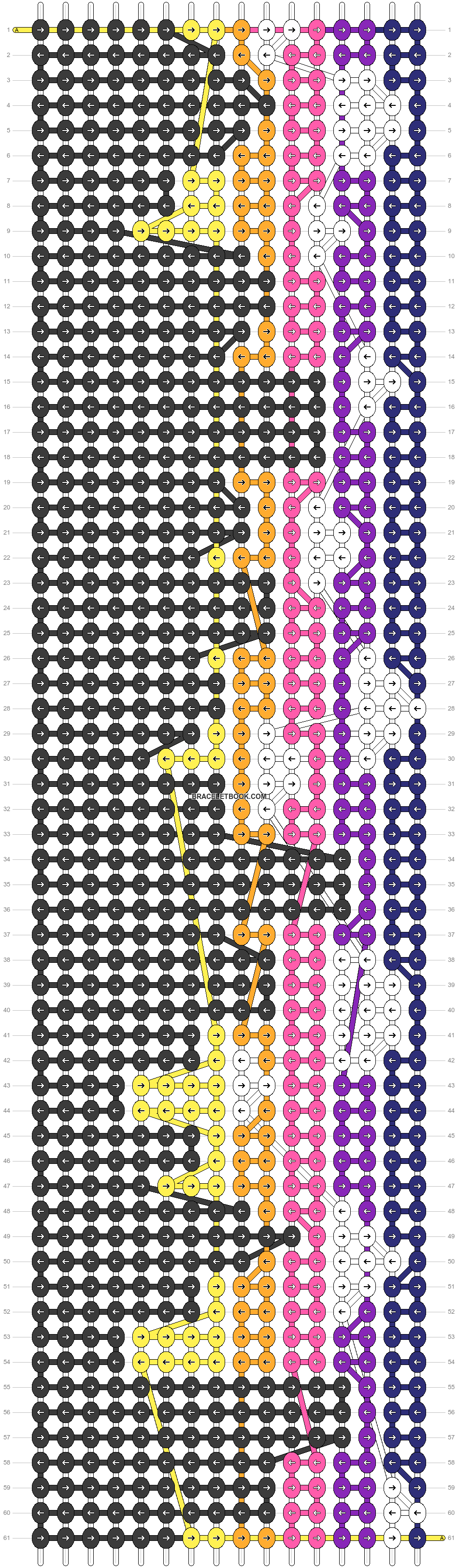 Alpha pattern #40123 pattern