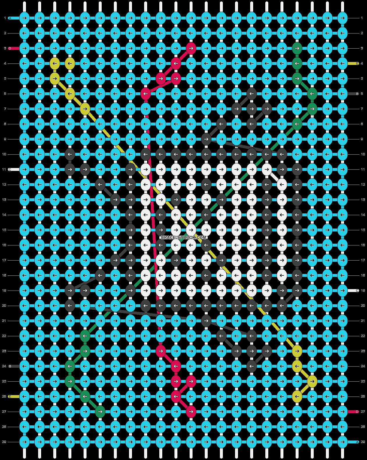 Alpha pattern #40148 pattern