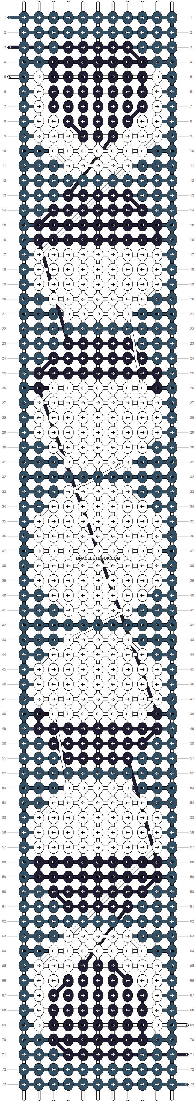 Alpha pattern #40170 pattern