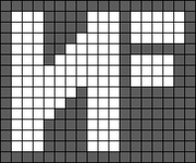Alpha pattern #40190