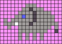 Alpha pattern #40195