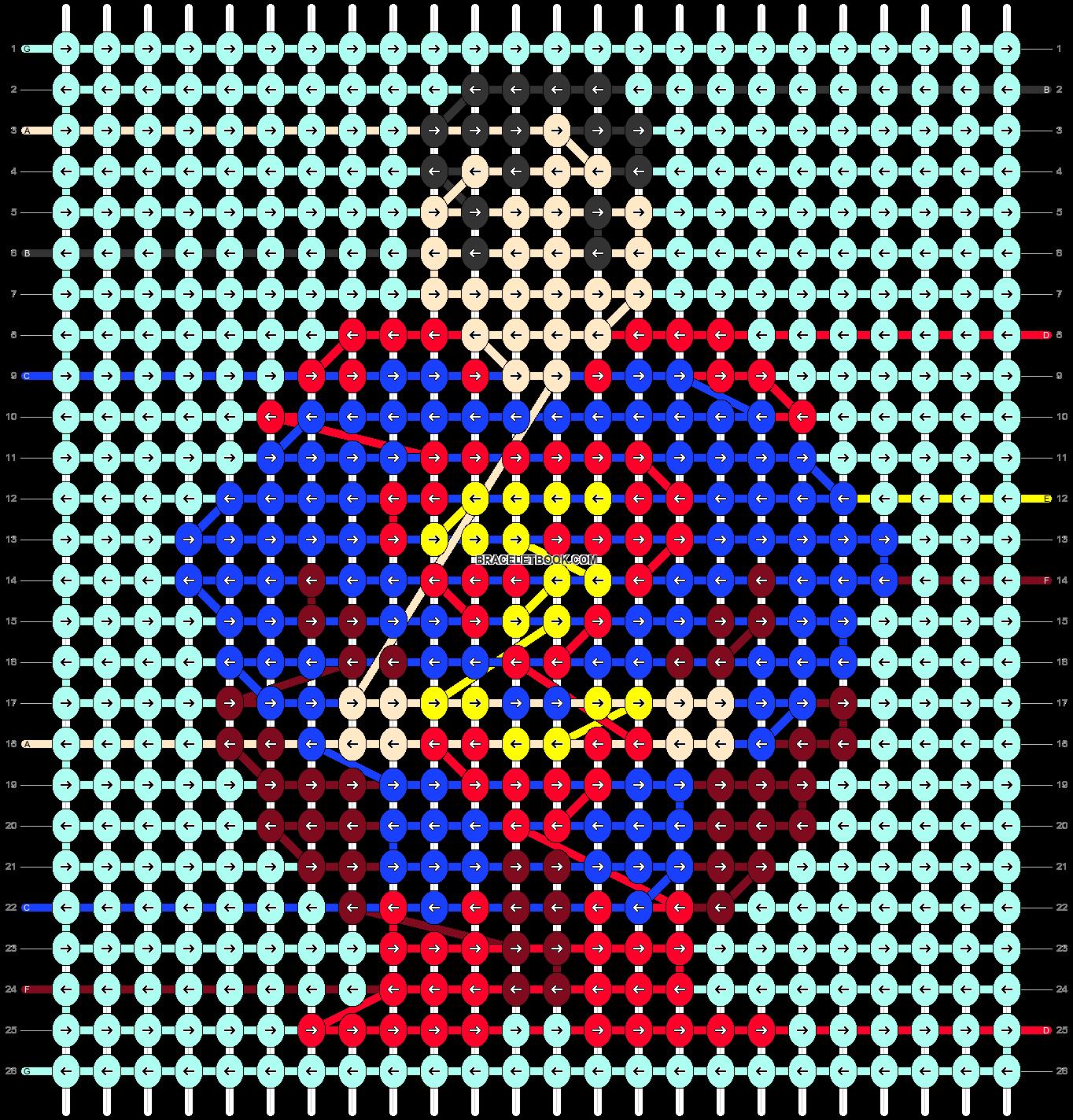 Alpha pattern #40213 pattern