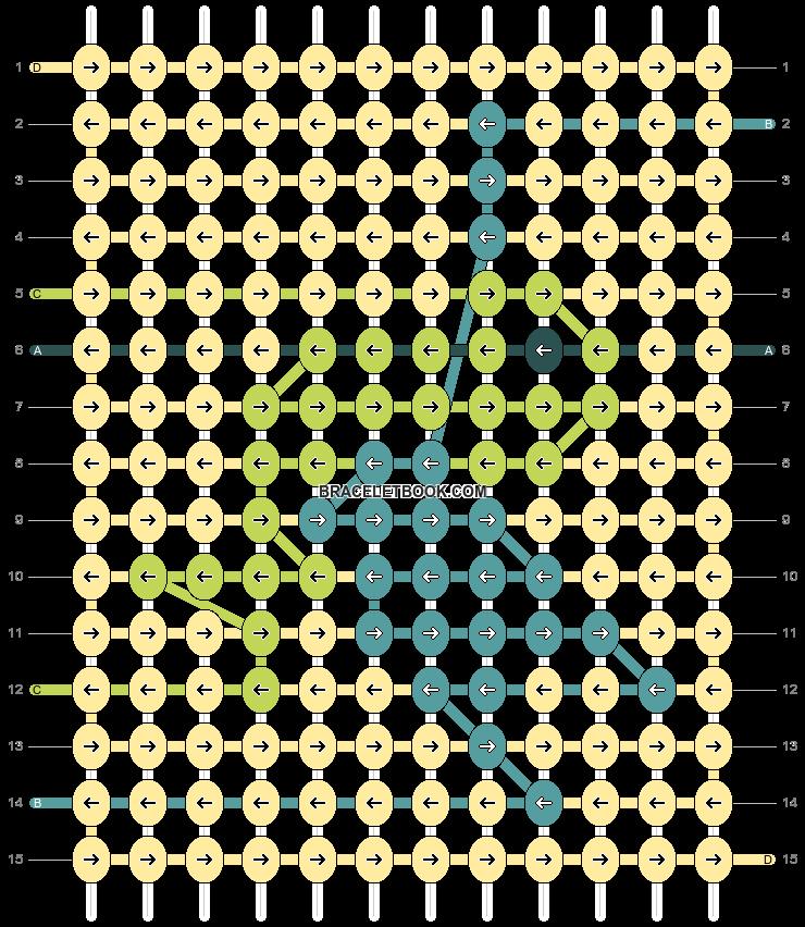 Alpha pattern #40245 pattern