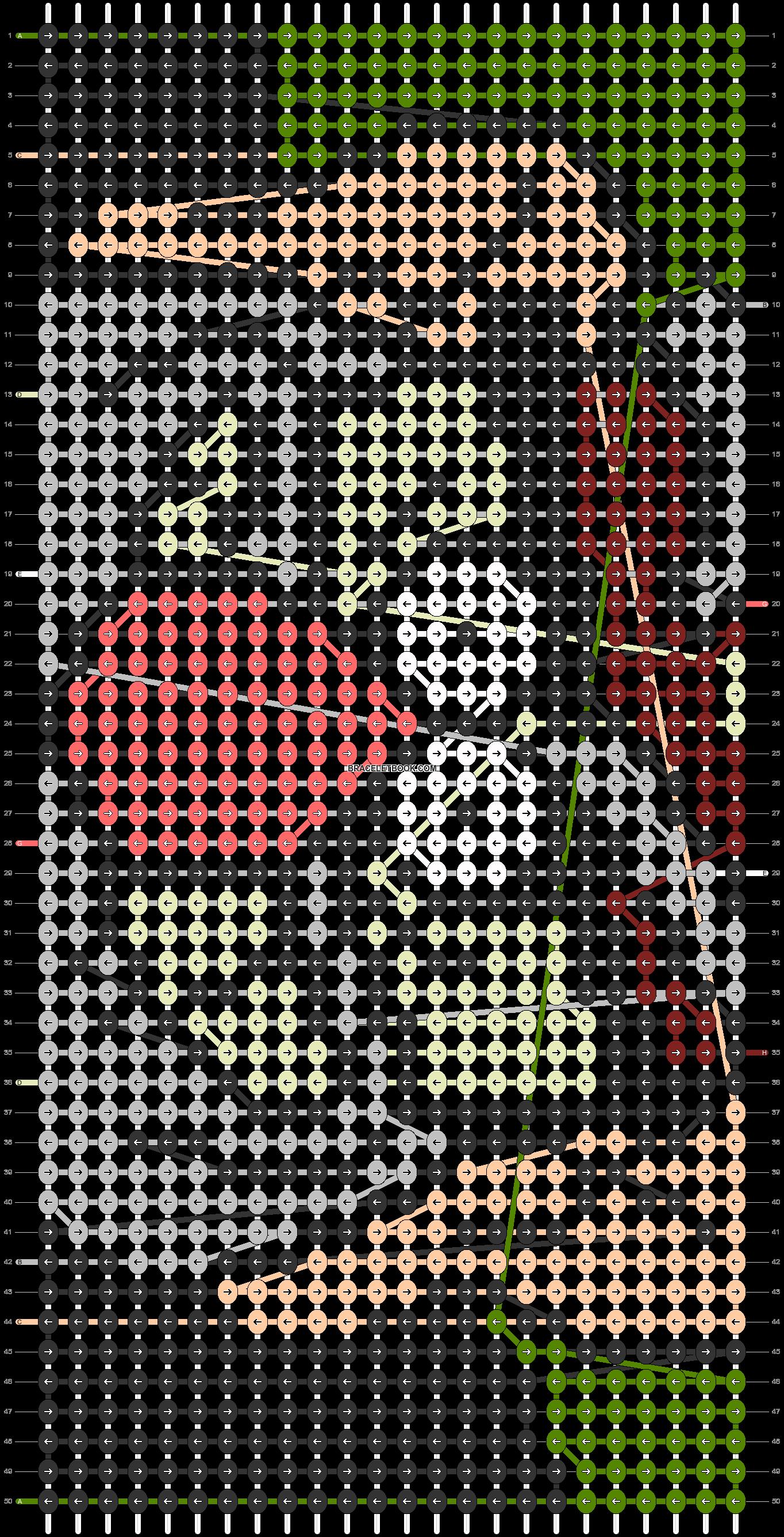 Alpha pattern #40252 pattern