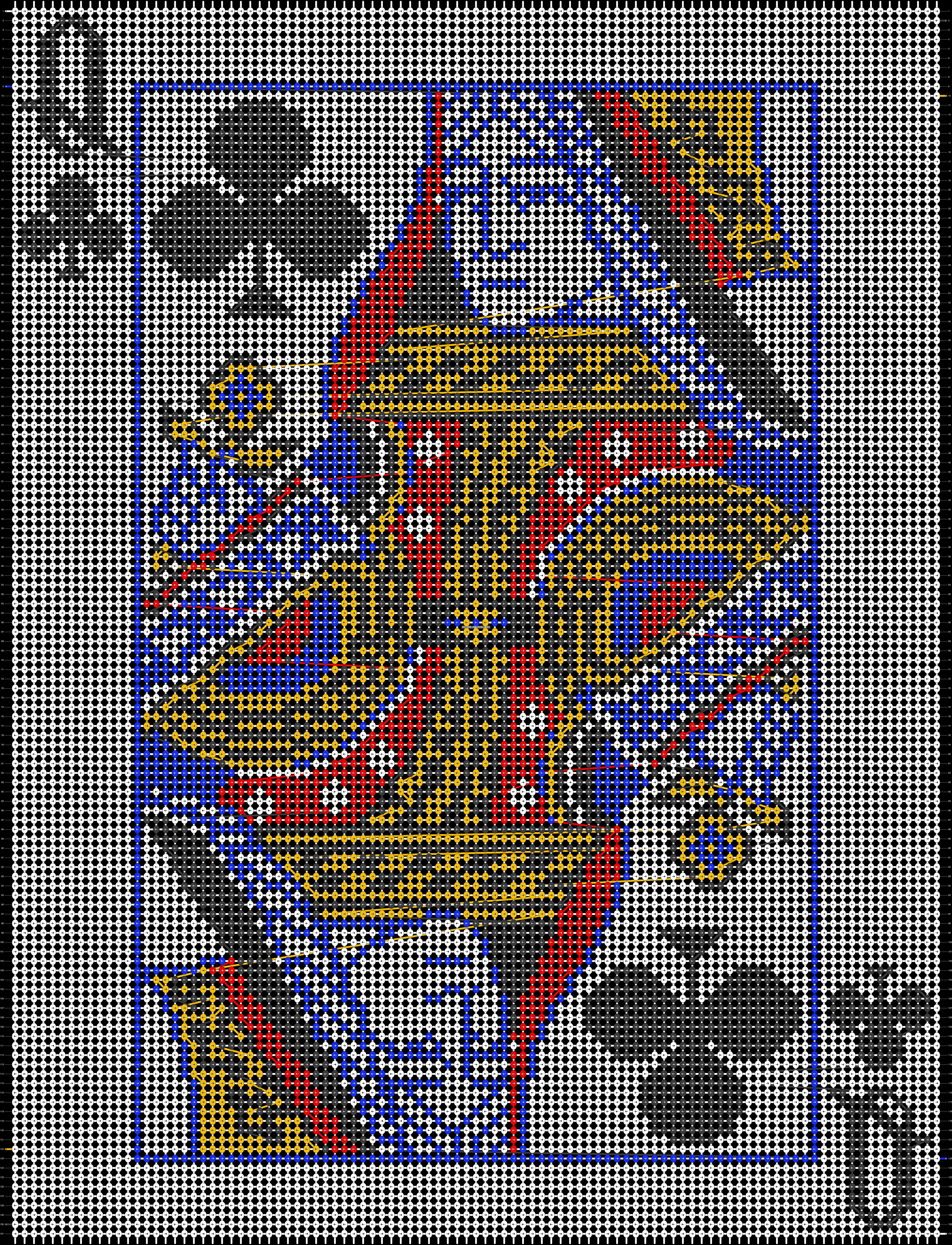 Alpha pattern #40261 pattern