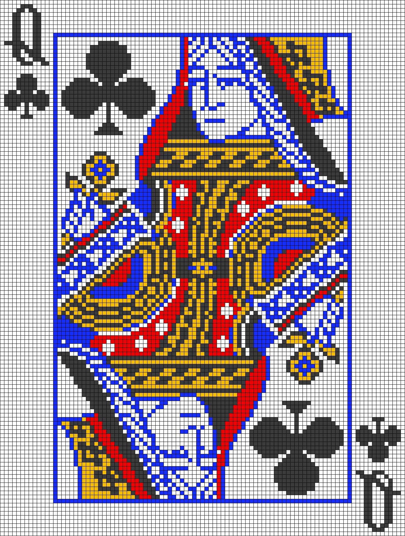 Alpha pattern #40261 preview
