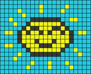 Alpha pattern #40282