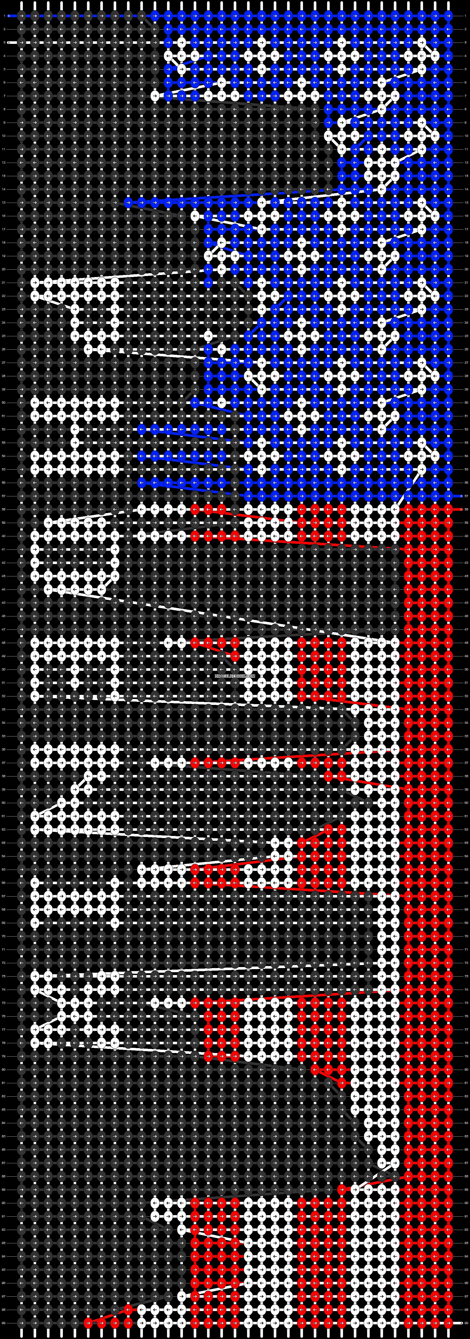 Alpha pattern #40326 pattern