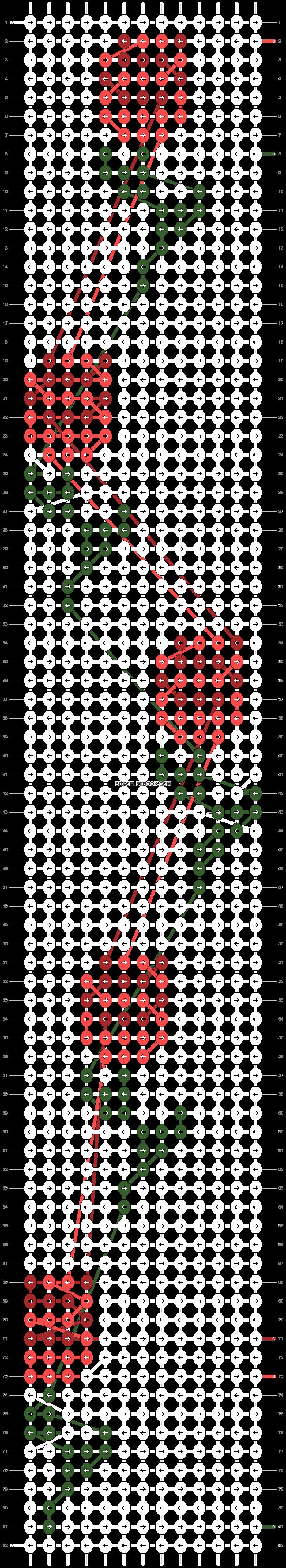 Alpha pattern #40346 pattern