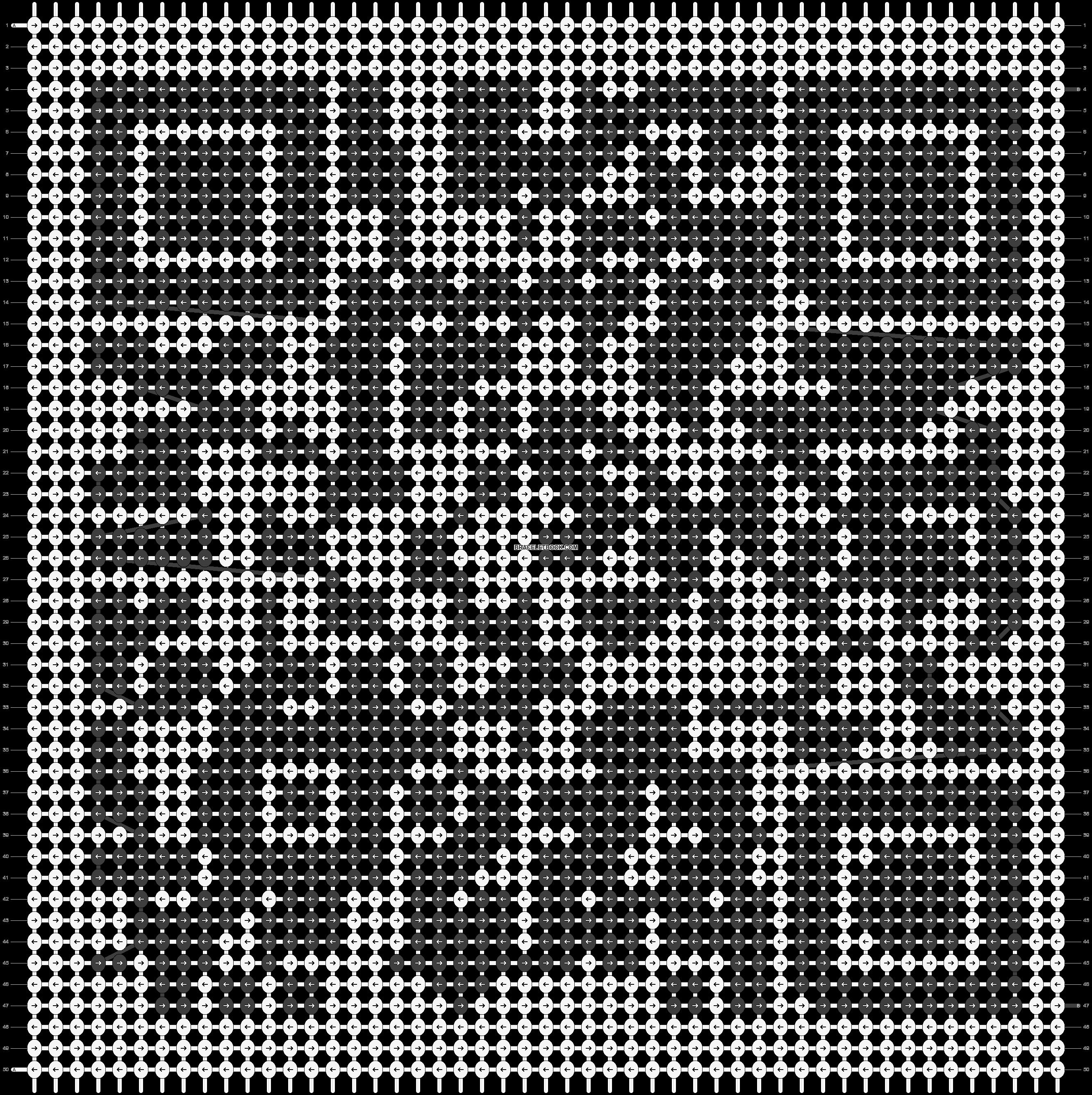 Alpha pattern #40351 pattern