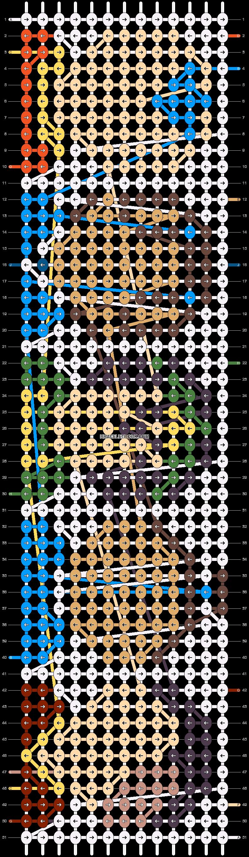 Alpha pattern #40360 pattern