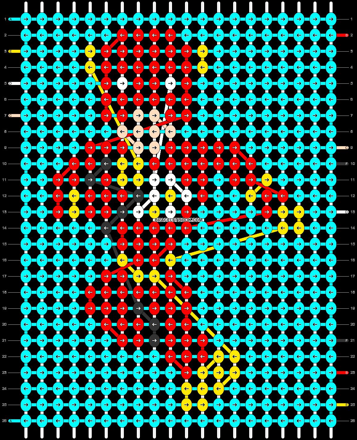 Alpha pattern #40393 pattern