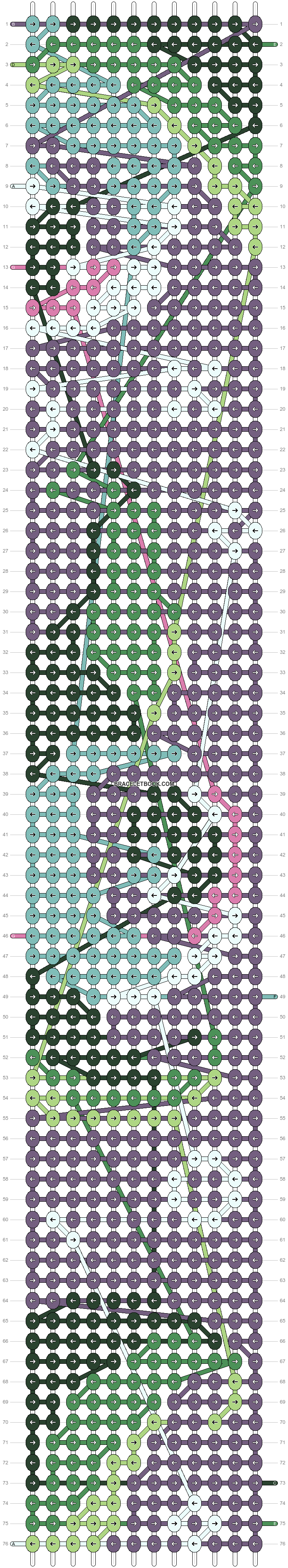 Alpha pattern #40416 pattern